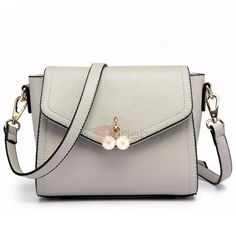 #TideBuy - #TideBuy Ladylike All Match Bead Decorated Crossbody Bag - AdoreWe.com