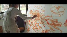 "Lisa Palombo Paints ""Living Waters"""