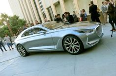 "Hyundai Vision G Coupe Concept Previews a Genesis Coupe. A ""chivalrous"" take on the luxury coupe."