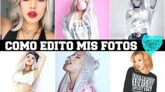 Como edito mis fotos /How to edit photos