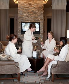 In addition to a variety of rejuvenating spa services in lush treatment rooms, outdoor specialty experiences under the wide open Wyoming skies — from yoga sessions to unique teepee massage treatments — are available. Brush Creek Ranch also offers 10,000 square feet of meeting and event space and creative planning services, an ideal location for weddings, reunions, corporate retreats and other unique ranch events.