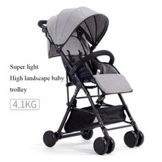 Baby stroller ultra-light portable hadnd car umbrella folding baby bb baby stroller