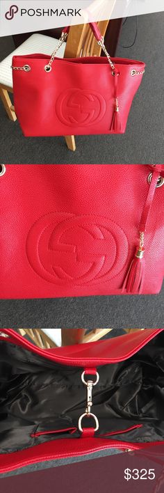 Red bag tote Brand new red bag tote Gucci Bags Totes