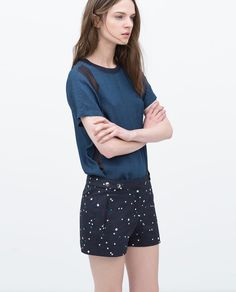 ZARA - WOMAN - POLKA DOT SHORTS