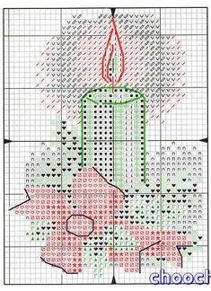 Schema punto croce Ornamenti Natalizi 1r