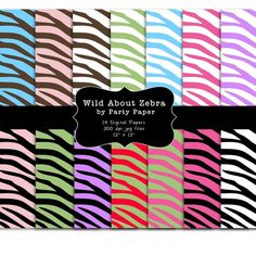 Zebra digital papers