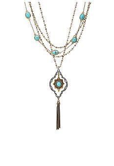 Lucky Brand Jewelry Multistrand Necklace