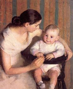 Marie Danforth Page, Mother and Child, 1930
