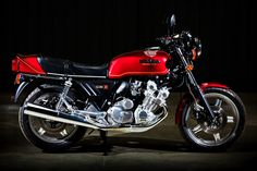 1979 Honda CBX1000 - 6 cylinder classic motorcycle.