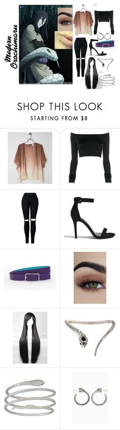 """""""Modern Orochimaru~Casual"""" by wolffire152 ❤ liked on Polyvore featuring BKE Boutique, Alexandre Vauthier, Forever 21, Talbots, WithChic, Roberto Cavalli, Decadence, Alchemy England and modern"""