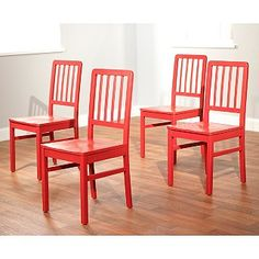 Simple Living Camden Dining Chair Set Of 4 By