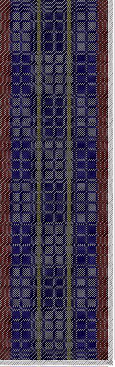 Hand Weaving Draft: SpinAndEaters_Dr_Who_Shawl_Rhinebeck2014, Elisa Eiger, 8S, 8T - Handweaving.net Hand Weaving and Draft Archive
