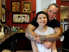 Ink for the cause: Tattoo fundraiser helps teen with leukemia - TODAY Health