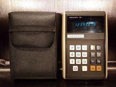 Calculatrice-calculator-LLOYD-039-S-EH-9036-0018-led-Japan-vintage-70-039-s