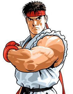 Ryu from Capcom Fighting Evolution ✤ || CHARACTER DESIGN REFERENCES | キャラクターデザイン | çizgi film • Find more at https://www.facebook.com/CharacterDesignReferences & http://www.pinterest.com/characterdesigh if you're looking for: bande dessinée, dessin animé #animation #banda #desenhada #toons #manga #BD #historieta #sketch #how #to #draw #strip #fumetto #settei #fumetti #manhwa #cartoni #animati #comics #cartoon || ✤