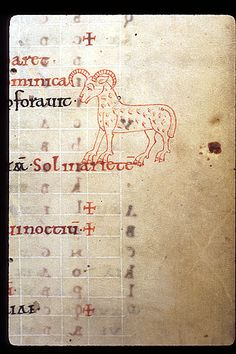 Aries f.3   Psalter with Old English gloss, the Psalms preceded by a calendar and compotus material   England   1099   British Library   Record #: Arundel 60