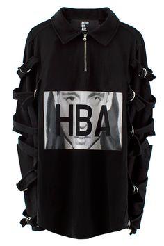 Hood By Air Morph Strap Shirt (Black)