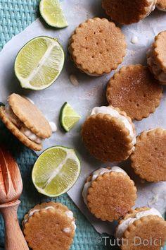 key lime pie | ice cream sandwich | Ice cream sandwiches | lime dessert recipes
