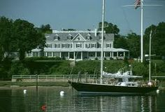 Oyster Bay, NY - View of the yacht club