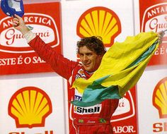 Ayrton Senna Brazil 1993