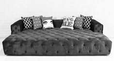 perfect for first row of media room. Fat Bastard Sofa/Bed by ModShop More #SofaBed