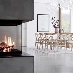 So Modern - 16 Fireplaces On Insta We're Loving Right Now - Photos