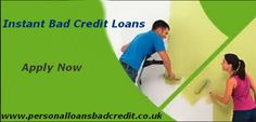 Instant bad credit loans can be acquired without much of any hassle. The loans are usually made available against optimal terms.