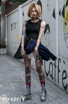 안리나 > Street Fashion | 힙합퍼|거리의 시작 - Now, That's Street