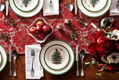 A Holiday Classic: Tableware by Spode.