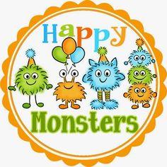 My Little Slice of Bliss: DeNami Design Happy Monsters Sneak Peeks