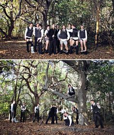 I love silly Groomsmen pictures ideas-for-a-wedding