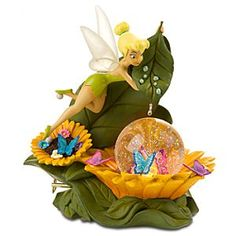 Tinkerbell And Friends, Peter Pan And Tinkerbell, Disney Fairies, Hades Disney, Disney Dream, Disney Love, Unicorn Snow Globe, Chrissy Snow, Disney Snowglobes