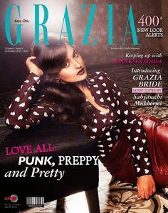 Grazia , Grazia Magazine , Sonkashi Sinha