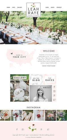 Wix Website Template, Website Design templates, Graphic Design Resources