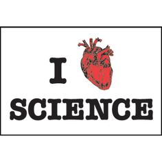 I Heart Science 2x3 Magnet