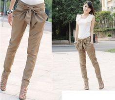 Cute bow pants!