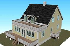 House Extensions, Picture Design, Home Fashion, Sweet Home, Villa, New Homes, Room Decor, Farmhouse, Mansions