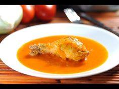 Pollo en salsa de chipotle con naranja - Receta de Cocina al Natural - YouTube