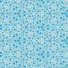 Probando en azules el estampado de la gama caleido. #pattern #patterndesign Sea Wallpaper, Backgrounds, Instagram Posts, Pattern, Rhinos, Gatos, Blue Nails, Model, Patterns