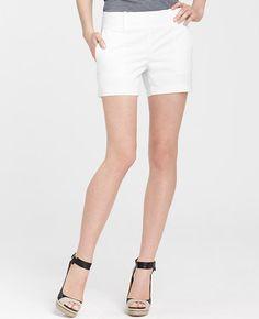 Petite Cotton Side Zip Shorts