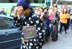 Street Style: Paris Fashion Week Spring 2014 - Vogue Daily - Fashion and Beauty News and Features - Vogue