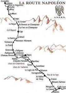 Die Napoleon Strasse Itinerary Reisetour Franzosische Alpen