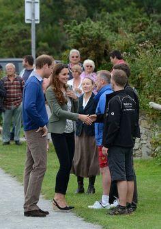 William & Catherine , Marathon à Anglesey  -  Le 30 août 2013