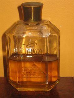 perfume antigo avon topaze anos 60 aroma ok coleção Nostalgia, Vintage Avon, Good Old, Whiskey Bottle, Perfume Bottles, History, Antiques, Old Perfume Bottles, Somewhere In Time