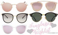 Wishlist Wednesday: Sunglass Edit | Love Leigh https://loveleighx.com/2017/03/29/wishlist-wednesday-sunglass-edit/
