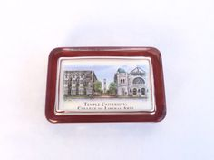 A personal favorite from my Etsy shop https://www.etsy.com/listing/251021347/temple-university-paperweight-by