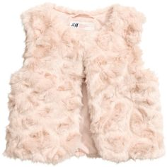 Faux Fur Vest $17.99 (515 UYU) ❤ liked on Polyvore featuring outerwear, vests, fake fur vest, faux fur vest, pink faux fur vest, faux fur waistcoat and vest waistcoat