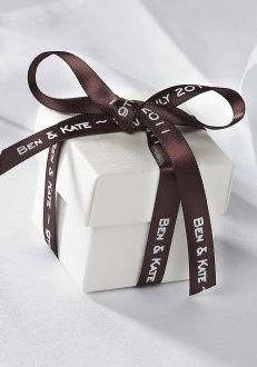 Brown Personalised Ribbon