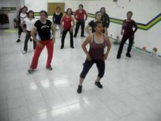 ZUMBA EL GUSANO ZACSI XALAHUI CUMBIA MERENGUE- Pick up the energy and it is EXACTLY what I was looking for!