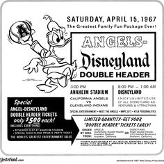 Angels Disneyland 1967  - What a bargain!!!